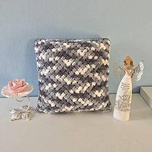 Úžitkový textil - * TRICOLOR * vankúš - z Puffy Fine  Color - 13355954_