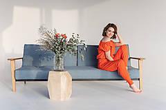Iné oblečenie - Teplákový komplet (XS/S - Oranžová) - 13354224_