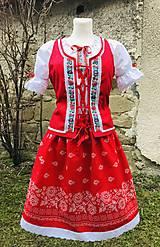 """Šaty - Ľudový dámsky kroj """"Gitka"""" - 13353025_"""