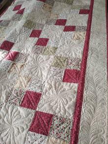 Úžitkový textil - Patchwork prehoz. - 13353458_