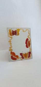 Zrkadlá - Zrkadlo maľované - 13354034_
