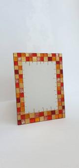 Zrkadlá - Zrkadlo maľované - 13354061_