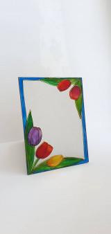 Zrkadlá - Zrkadlo maľované - 13354063_