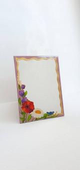 Zrkadlá - Zrkadlo sklomaľba - 13354100_