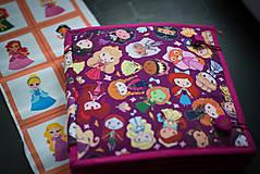 Hračky - Quiet Book - Princezné - 13354708_