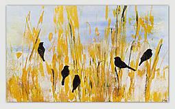 Obrazy - Pred letom, 100x60, abstraktný obraz - 13354064_