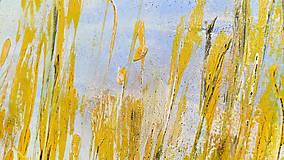 Obrazy - Pred letom, 100x60, abstraktný obraz - 13354077_