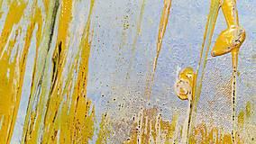 Obrazy - Pred letom, 100x60, abstraktný obraz - 13354097_