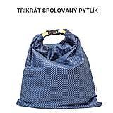 Úžitkový textil - Vrecko na chleba s membránou - Lúčna láska - 13354526_