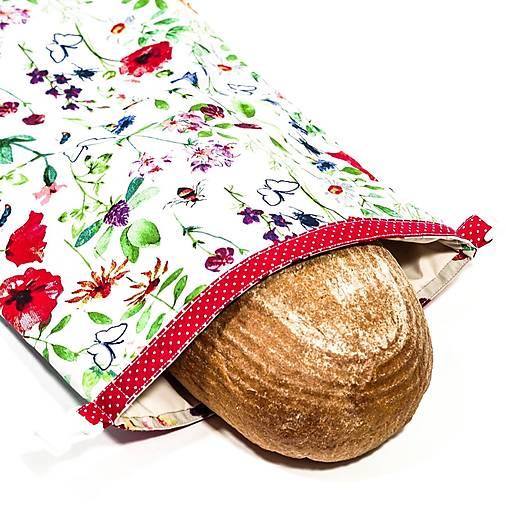 Vrecko na chleba s membránou - Lúčna láska