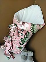 Textil - Perinka pre dievčatko - ružová - 13354543_