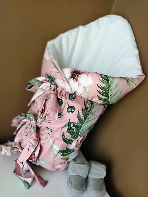 Perinka pre dievčatko - ružová