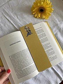 Papiernictvo - Knihomoľka - záložka do knihy - 13354797_