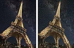 Obrazy - Mozaikový obraz #034 Eiffelovka - diamantové maľovanie - 13355951_