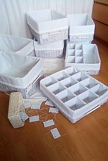 Košíky - Box s priehradkami 42 x 48, v - 15 / ks - 13353185_