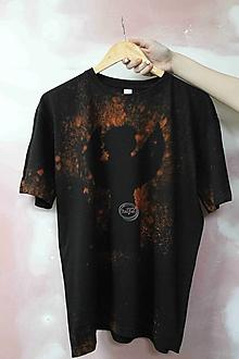 Tričká - Tričko _T-shirt_batik_XL_uni_black - 13358539_