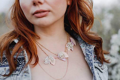 """Vintage náhrdelník """"s tebou v srdci"""""""