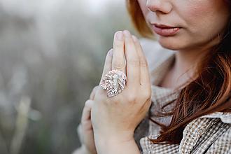 "Prstene - Vintage prstienok ""s tebou v srdci"" - 13357410_"
