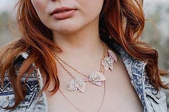 """Náhrdelníky - Vintage náhrdelník """"s tebou v srdci"""" - 13357444_"""