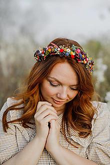 """Ozdoby do vlasov - Kvetinový venček """"slnko po daždi"""" - 13359041_"""
