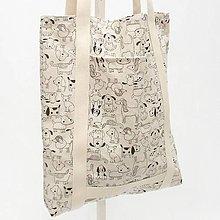 Nákupné tašky - Nákupná eko taška - PES - 13357498_