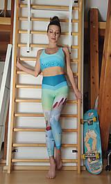 Topy - Sporty world green - športová bra - 13359137_