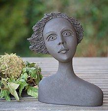 Socha - zobúdzam sa do jari - keramická socha - 13357590_