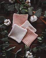- Kozmetický uteráčik veľkosť S (s bambusovo-bavlneným froté) - 13359703_