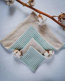 Úžitkový textil - Kozmetický uteráčik veľkosť M - 13359662_