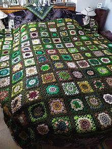 Úžitkový textil - Pokoj lesa, deka na manželskú posteľ - 13356779_