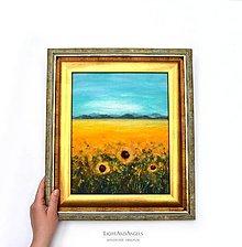 "Obrazy - Arttexový obraz ""Milované slnečnice"" - 13361036_"