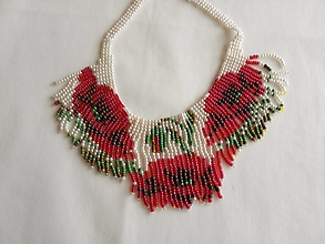 Náhrdelníky - náhrdelník maky - 13362033_