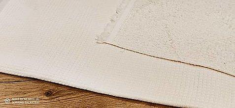Textil - Vafľovina (Krémová) - 13362651_