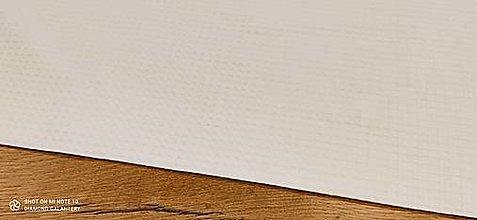 Textil - Vafľovina (Biela) - 13362656_
