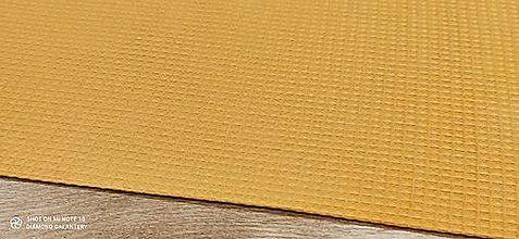Textil - Vafľovina (Žltá) - 13362663_
