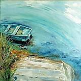 Obrazy - Pri vode - 13362955_