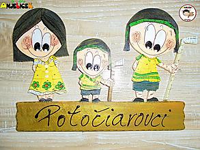 Tabuľky - Menovka - rodinka - 13363235_