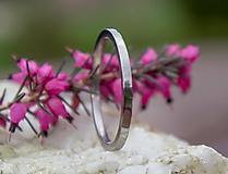 Prstene - Titanový prstienok - 13363246_