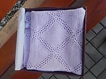 Textil - Patchworková detská deka - 13360785_