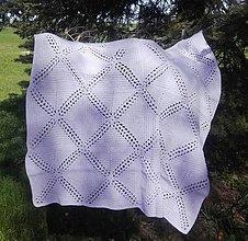Textil - Patchworková detská deka - 13360775_