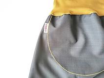 """Detské oblečenie - Softshellky jarné """"neutral"""" (110 (4-5 r.) dl: 70cm) - 13361322_"""