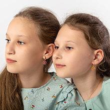 Detské doplnky - náušnice Rita- detské - 13362393_