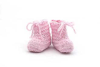 Topánočky - Bledoružové čižmy EXTRA FINE - 13362132_