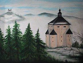 Obrazy - Banská Štiavnica, nepredajný - 13362772_