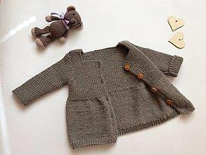 Detské oblečenie - Maličký svetríček - 13360499_