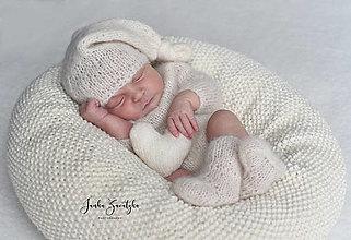 Detské oblečenie - Newborn body s dlhými rukávmi a ponožtičky - 13361681_
