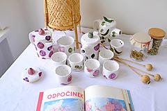 Nádoby - Čajníková sada z kolekcie Majolika - 13363453_