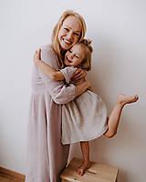 Detské oblečenie - Detské mušelínové šaty Basic/Oversized - 13362302_