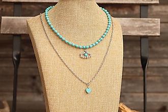 Náhrdelníky - Súprava náhrdelníkov - náhrdelník a retiazka - 13362858_