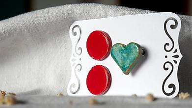 Sady šperkov - keramická sada č.392 - 13364667_